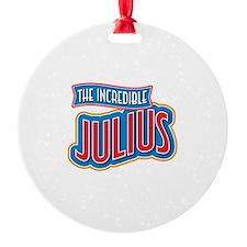 The Incredible Julius Ornament
