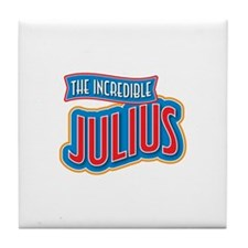 The Incredible Julius Tile Coaster