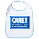 Quiet! Bib