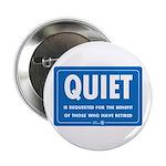 Quiet! Button (100 pack)