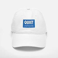 Quiet! Baseball Baseball Cap