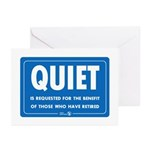Quiet! Greeting Cards (10 pack)