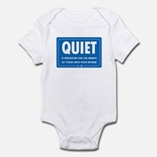 Quiet! Infant Bodysuit