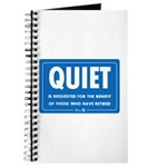 Quiet! Journal