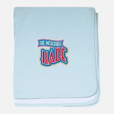 The Incredible Kade baby blanket