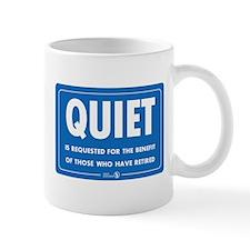 Quiet! Small Mug
