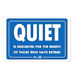 Quiet! Postcards (8 pack)