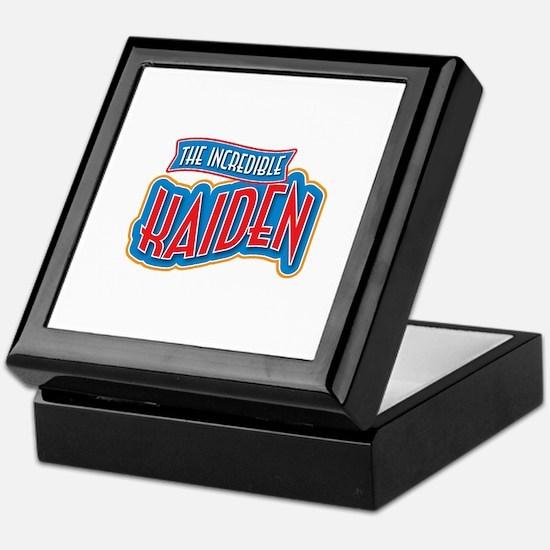 The Incredible Kaiden Keepsake Box