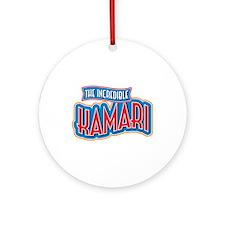 The Incredible Kamari Ornament (Round)