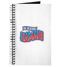 The Incredible Kamari Journal