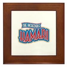 The Incredible Kamari Framed Tile