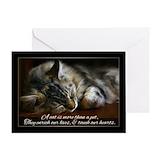 Pet sympathy Greeting Cards
