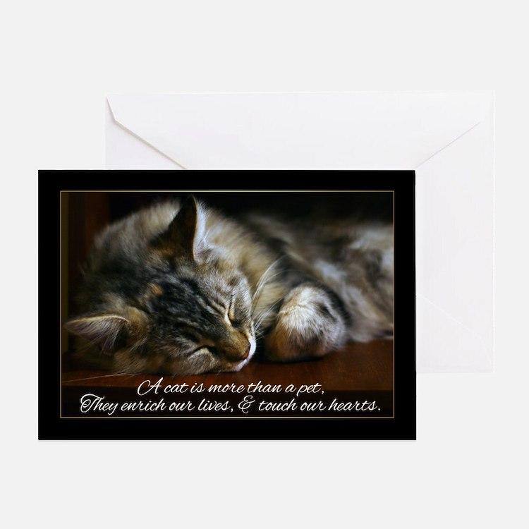 Pet Cat Sympathy Card, Loss Of Pet