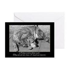 Pet Dog Sympathy Card - Loss Of Pet (Pk of 10)