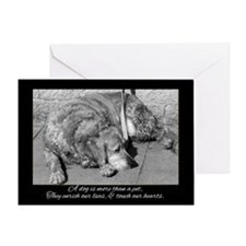 Pet Dog Sympathy Card - Loss Of Pet