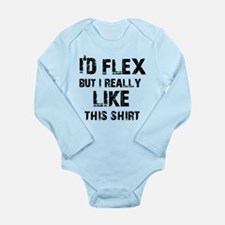 Funny Designs Long Sleeve Infant Bodysuit