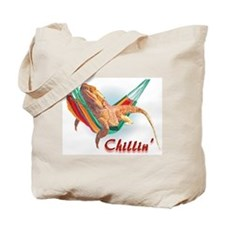 Bearded Dragon Chillin Tote Bag
