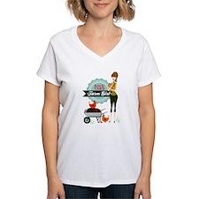 Backyard Farm Girl Shirt
