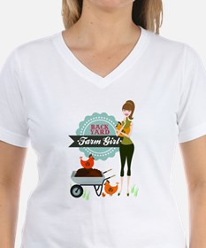 Backyard Farm Girl Shirt