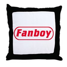 Fanboy Throw Pillow