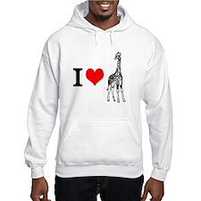 I 3 Giraffes Hoodie