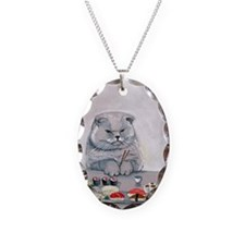 Sushi Cat- The Grump Necklace