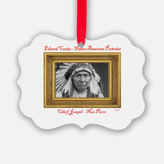 Chief Joseph - Nez Perce (1903) Ornament