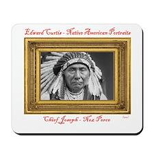 Chief Joseph - Nez Perce (1903) Mousepad