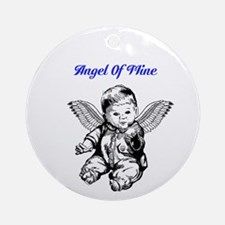 Angel Of Mine Ornament (Round)