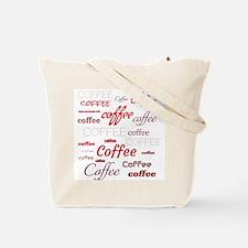 Magic Coffee Fonts Tote Bag