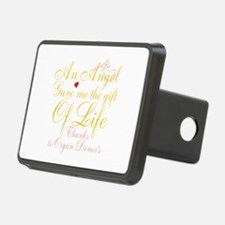 An Angel Gave Me The Gift Of Life Hitch Cover