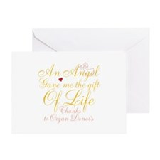 An Angel Gave Me The Gift Of Life Greeting Card