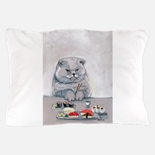 Sushi Cat- The Grump Pillow Case