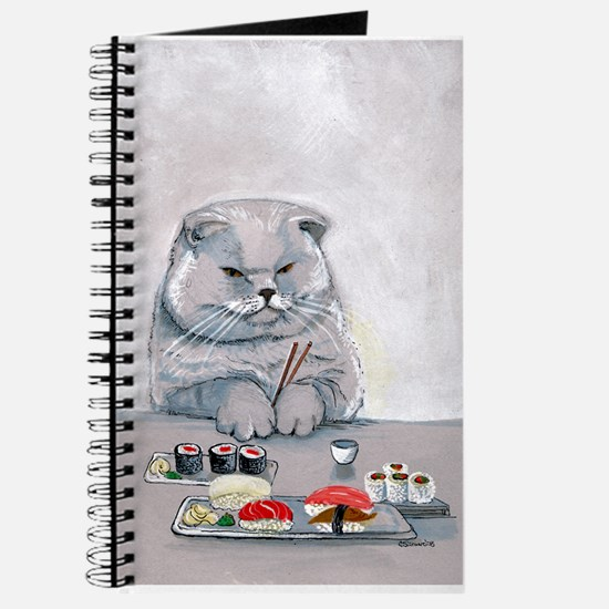 Sushi Cat- The Grump Journal