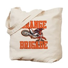 Orange Brigade Tote Bag