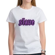 Slave Logo in Purple T-Shirt