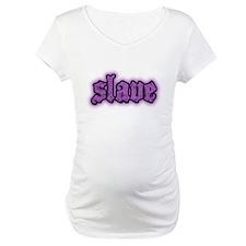 Slave Logo in Purple Shirt