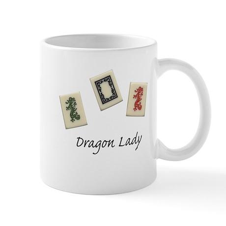 Dragon Lady Mah Jongg Mug