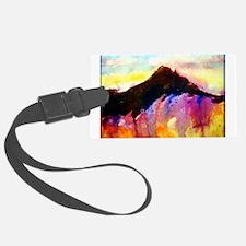 Landscape! Colorful Southwest art! Luggage Tag
