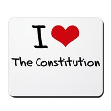 I love The Constitution Mousepad