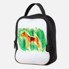 Watercolor Lakeland Neoprene Lunch Bag