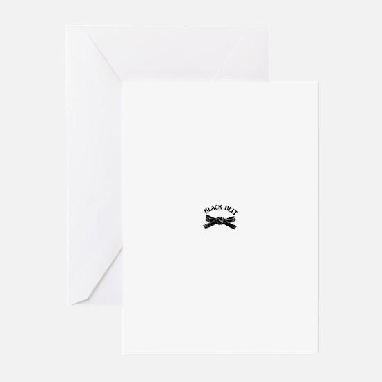 Black Belt Greeting Cards (Pk of 10)