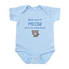 Grumpy Meow Body Suit