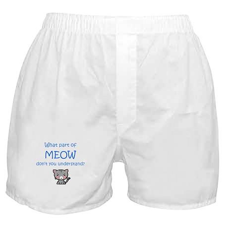 Grumpy Meow Boxer Shorts