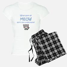 Grumpy Meow Pajamas