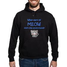 Grumpy Meow Hoodie