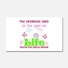 The Greatest Gift Car Magnet 20 x 12
