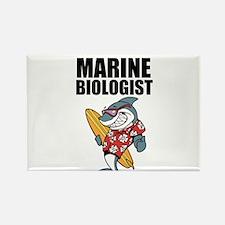 Worlds Greatest Marine Biologist Rectangle Magnet