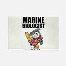 Worlds Greatest Marine Biologist Rectangle Magnet