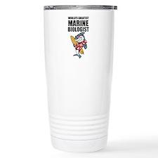 Worlds Greatest Marine Biologist Travel Mug